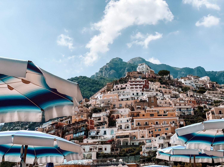 Positano beach view, Italy