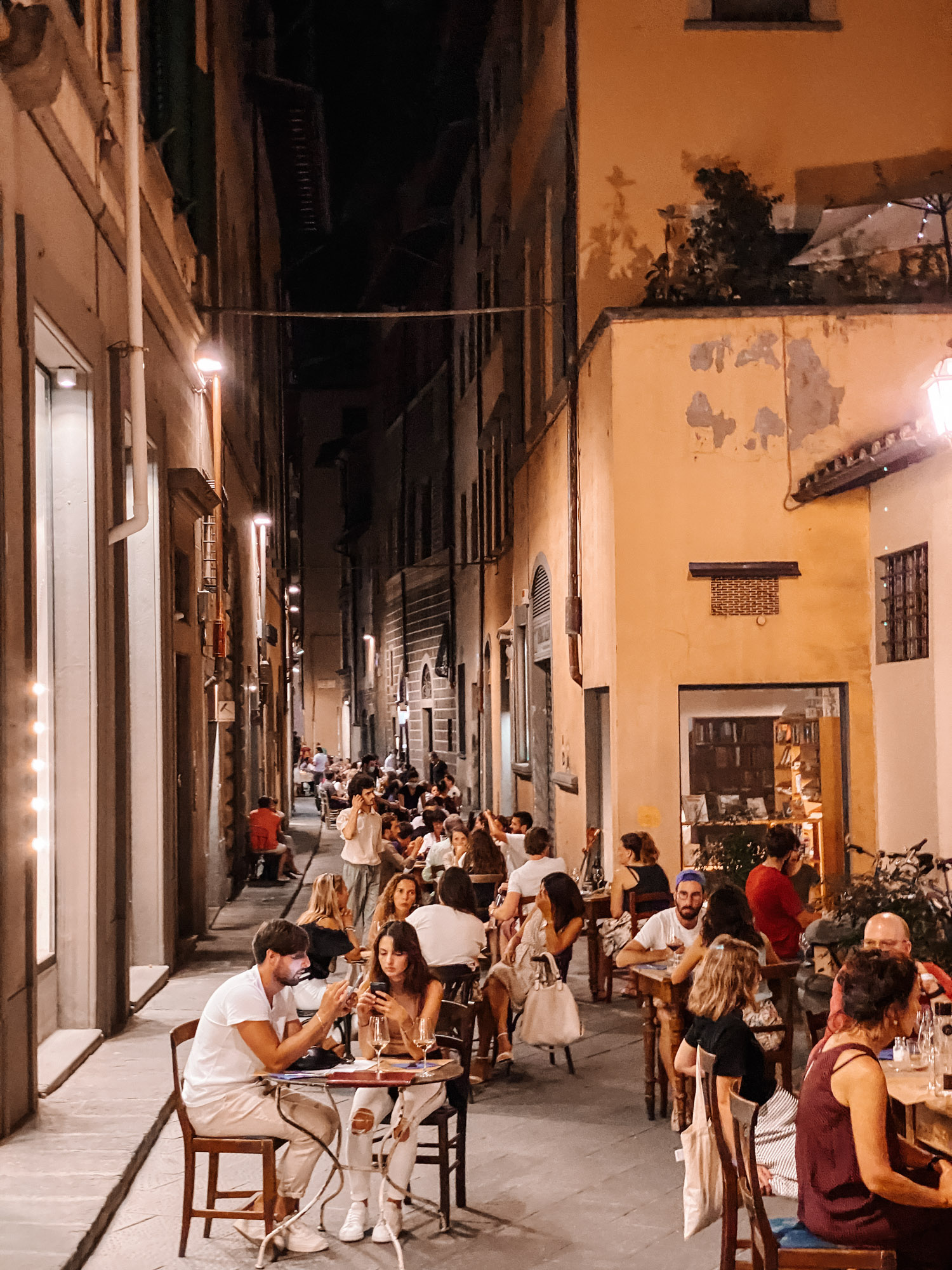 Dinner in Florence, Italy